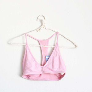 Intimately Free People Connor Bralette Pink NWT